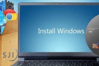 jasa install laptop sji